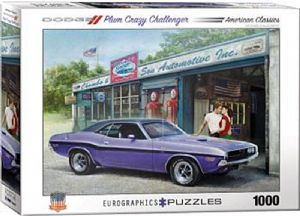 Dodge Plum Crazy Challenger 1000 piece jigsaw puzzle   680mm x 490mm    (pz)